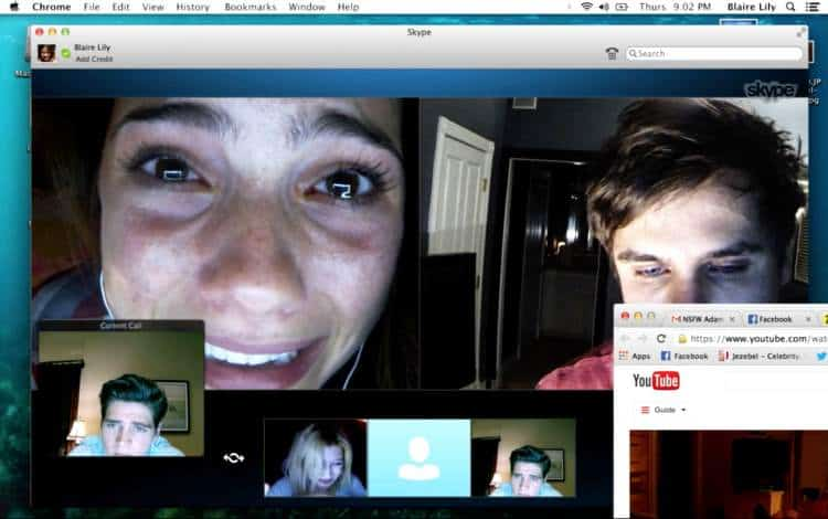 Unfriended (2014) screenshot