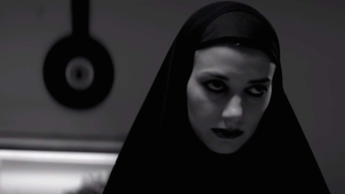 a Girl Walks Home Alone at Night Skateboard in a Girl Walks Home Alone