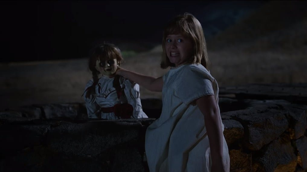 Jump Scares In Annabelle Creation 2017 Where S The Jump