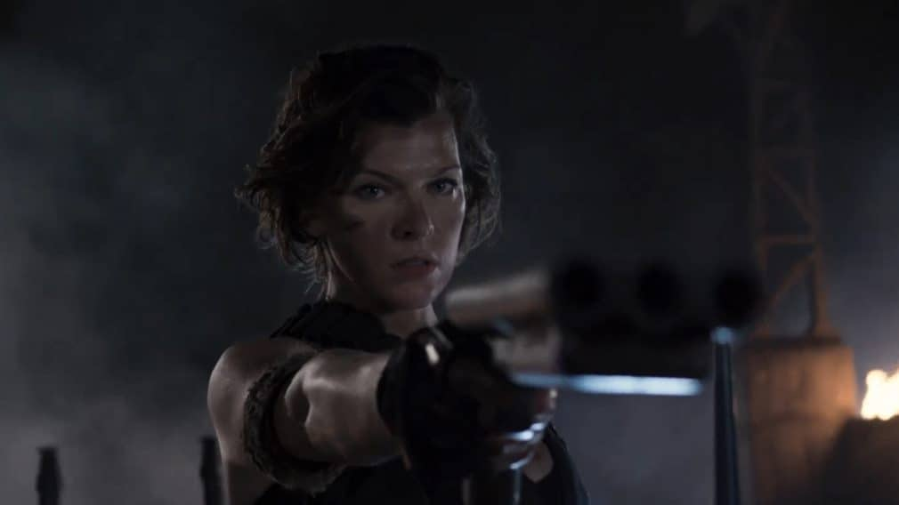 Resident Evil The Final Chapter Movie Clip Alice Awakes: Jump Scares In Resident Evil: The Final Chapter (2016