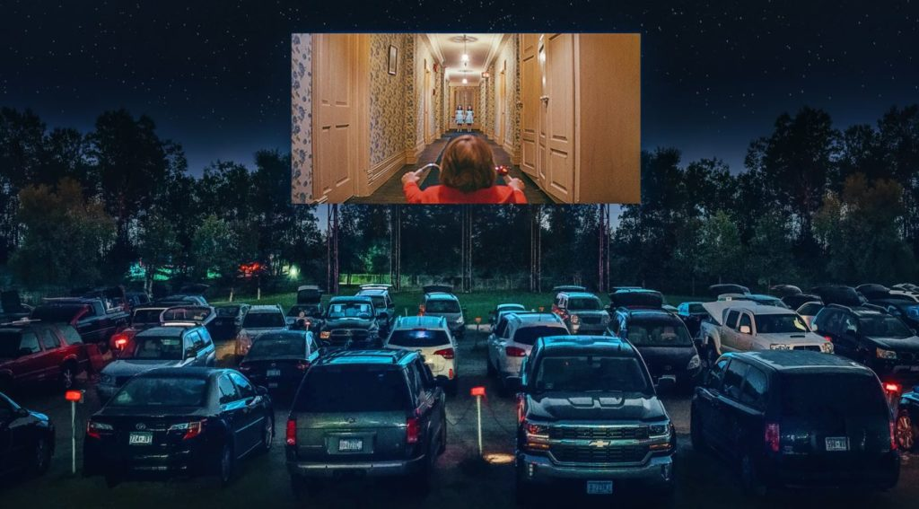 A Drive-In Screening of The Shining (1980)